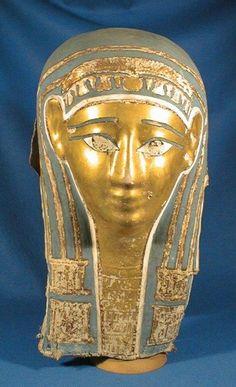 Mummy mask - PTOLEMAIC PERIOD