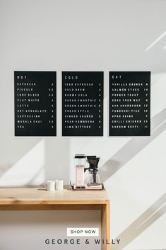 Coffee Shop Interior Design, Coffee Shop Design, Coffee Shop Interiors, Bakery Interior Design, Web Banner Design, Cafeteria Menu, Coffee Shop Menu, Coffee Shop Signage, Cafe Signage