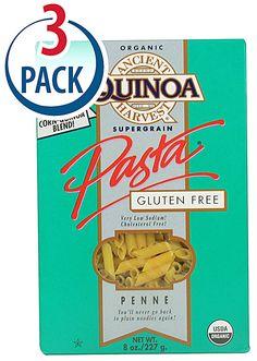 Ancient Harvest Pasta Penne Organic Gluten Free