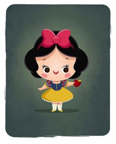[DISNEY] Little Princess - Snow White by Jerrod Maruyama, via Flickr #disney…