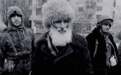 Grozny Chechnya war chechen rebels men Caucasus people