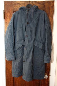 OG Helmut Lang AW98 Hooded Shearling Bondage Parka RARE Kanye Yeezy RAF 1998   eBay
