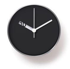 Extra Normal Wall Clock by Ross McBride Kitchen Clocks, Communication Design, Home Decor Items, Scandinavian Design, Minimalist Design, Industrial Design, My Design, Cool Designs, Clock Wall