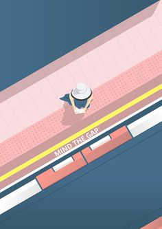 Lady on the platform. on Behance
