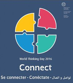 The World Thinking Day 2016 activity packs are now available for download Girl Scout Badges, Girl Scout Troop, Scout Leader, Girl Scout Activities, Book Activities, Activity Books, Gs World, Brownie Guides, Girl Scouts Of America