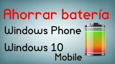 cool 8 trucos para ahorrar batería en Windows Phone y Windows 10 Mobile