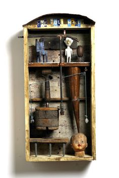 The Constant Gatherer: William Skrips ASSEMBLAGE IN A BOX