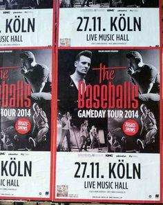 #Flächenplakatierung #Poster #Plakat ##The Baseballs