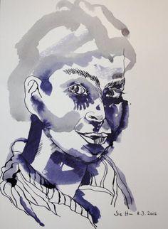 Today ist woman day in worlk - I drew two women....