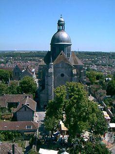 Collégiale Saint-Quiriace (église) à Provins - 2002