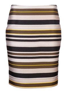 Wear it casual or for the office, this Jenni Kaynes Multi-Stripe Pencil Skirt is a must have! #summer #style #wishlist