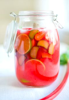 Summer fruit punch.