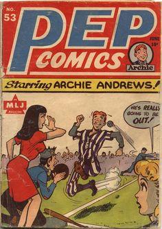 Comic Book Cover For Pep Comics #53