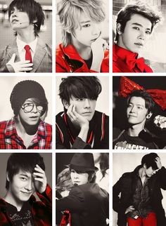 Donghae :D He all about that red and black life though... XD <3
