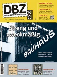 Deutsche Briefmarken-Zeitung 9/2015