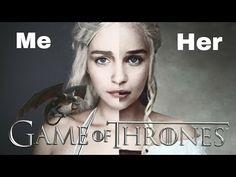 Game Of Thrones: Daenerys Targaryen Makeup Tutorial - YouTube
