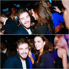 Liam con Sophia el viernes pasado en Funky Buddha.  La verdad Liam se ve guapísimo con barba *w* ❤