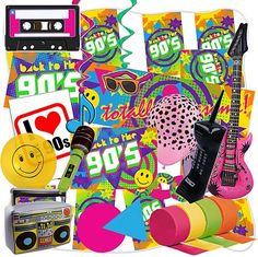 90's Large Decoration Pack