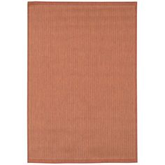 Have to have it. Couristan Recife Saddle Stitch Indoor/Outdoor Area Rug - Terra Cotta/Natural $19