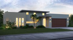 New green building system promotes affordable housing — South Florida Sun Sentinel Flat Roof House, Facade House, Three Bedroom House Plan, Best Modern House Design, Modern House Facades, Building Systems, Dream House Exterior, Affordable Housing, Green Building