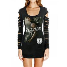 Vestido Preto Série The Walking Dead Daryl Dixon The Walking Dead Daryl, Walking Dead Clothes, Daryl Dixon, The Walking Dead Merchandise, Style Wish, Black Tops, Celebrity Style, Shirts, Medium
