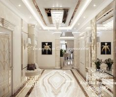 Love this dramatic tile for the master hall. Huge Bedrooms, Luxurious Bedrooms, Corridor Design, Master Bedroom Interior, Luxury Flooring, My Ideal Home, Hallway Designs, House Front Design, Lobby Design