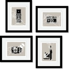 Love these prints for decorating my office.  $39