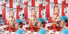 Mustache cake smash!!!  #cakesmash #birthday #caraleecasephotography