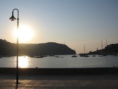 What a beautiful view from Nunu Restaurant in Port Soller, Mallorca