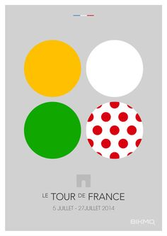 To celebrate the Tour de France 2014, Bikmo have teamed up with designed Lewis Keogh again as the next part of our series of cycling Grand Tour posters. The two posters, The Jerseys and The Teams, showcase the vibrancy of the world's greatest cycling race.