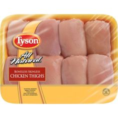 Tyson Boneless Skinless Chicken Thighs, 28.8 oz