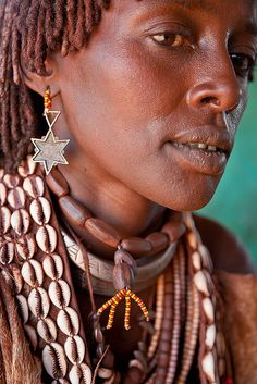 Africa   Portrait of a Hamer woman. Lower Omo valley, Ethiopia   © Ronny Reportage