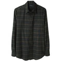 Rachel Comey Mensy Shirt ($202) ❤ liked on Polyvore featuring tops, shirts, flannels, blouses, women, button front shirt, long sleeve plaid shirt, long sleeve flannel shirts, plaid shirts and button down shirts