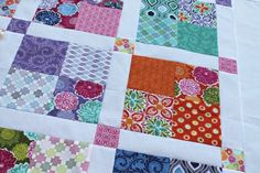 FREE pattern: 4x4 Terrain Quilt (from Sew Lux Fabric)