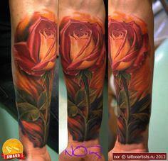 ~Rose~ by nor @ tattooartists.ru