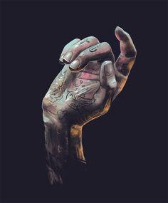 David Belliveau | Hand Study