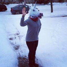 Unicorn friend.