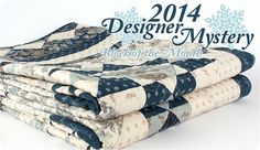 Designer Mystery Block of the Month by Fat Quarter Shop, via Flickr