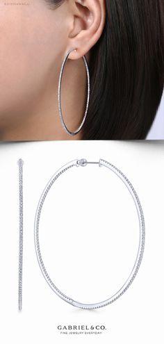 15 9ct Carat White//Yellow Gold Ladies Hoop Earrings 30mm 25 20 10 8