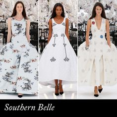 Which Dior Couture Girl Are You? | The Zoe Report Southern Belle; if you'll take any excuse to wear elbow gloves & a string of pearls.