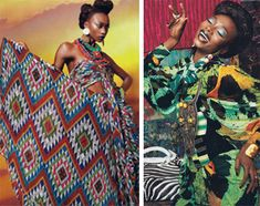 High fashion that is African-inspired