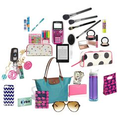"""""""Whats in my purse during the school year!!!!!"""""""