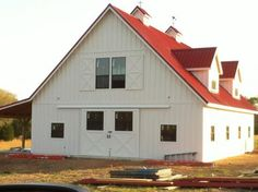 hardie plank on a barn - Google Search