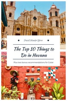 The great thing about Havana is that there are a TON of activities / excursions available to you. I'm here to give you a hand with that! In this post I'll give you my personal list of the top 10 things to do in Havana, Cuba and I'll also throw in a few bonuses for outside the city at the end as well :). #cuba #havana #internationaltravel #travelguide