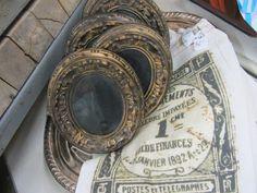 Vintage frame display at *SWeeT SaLVaGe in PHOENIX, AZ...*