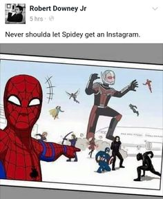 If he had a phone in the airport scene, I'm pretty sure Spiderman would have done this.