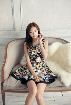 Baju Import Dress DS3093-Black