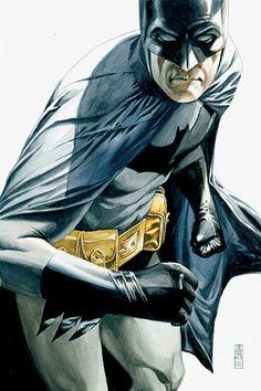 Batman knew what it was like to trip balls