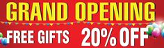 Grand Opening Vinyl Banner 11952 | ww.sign11.com