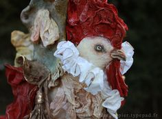 Cock carriage by Merveillesenpapier on Etsy, €180.00